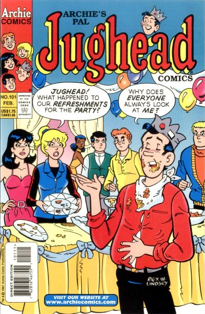 Cover for Archie's Pal Jughead Comics (Archie, 1993 series) #101