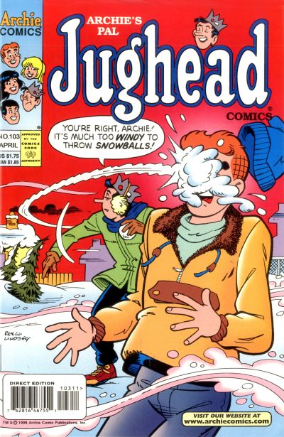 Cover for Archie's Pal Jughead Comics (Archie, 1993 series) #103
