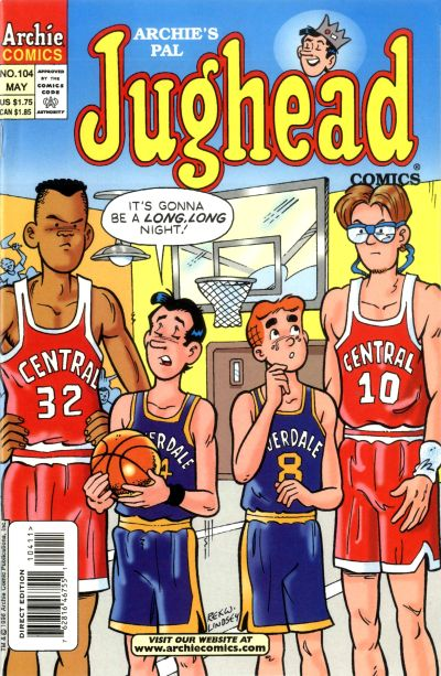 Cover for Archie's Pal Jughead Comics (Archie, 1993 series) #104