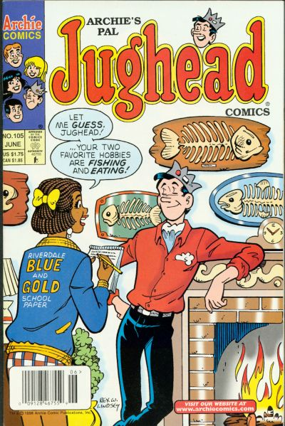 Cover for Archie's Pal Jughead Comics (Archie, 1993 series) #105