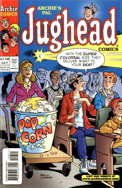 Cover for Archie's Pal Jughead Comics (Archie, 1993 series) #106