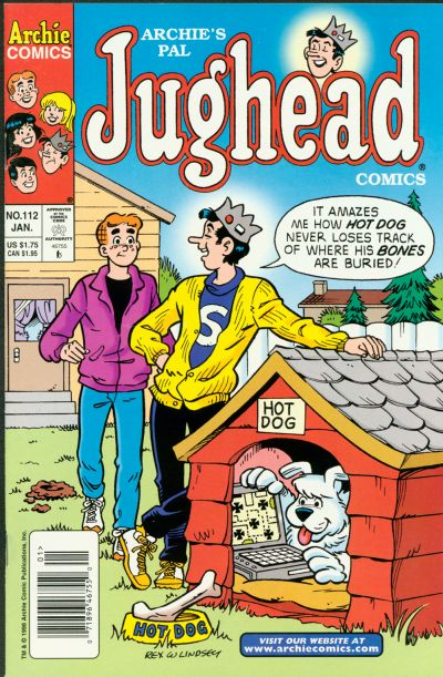 Cover for Archie's Pal Jughead Comics (Archie, 1993 series) #112
