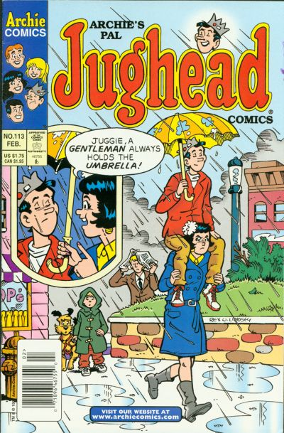 Cover for Archie's Pal Jughead Comics (Archie, 1993 series) #113