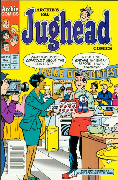 Cover for Archie's Pal Jughead Comics (Archie, 1993 series) #116
