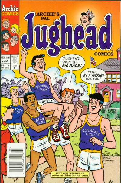Cover for Archie's Pal Jughead Comics (Archie, 1993 series) #118