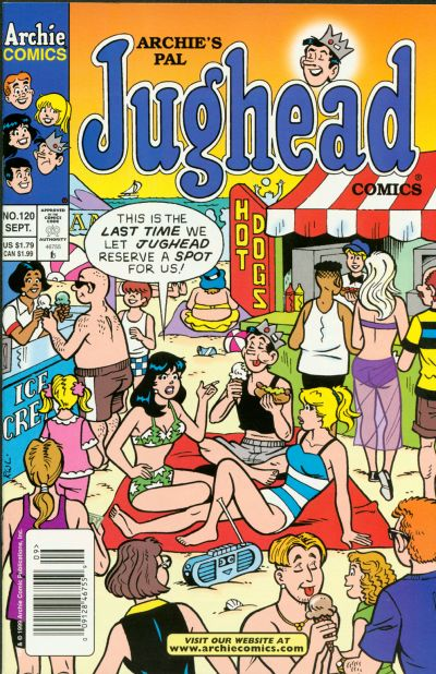 Cover for Archie's Pal Jughead Comics (Archie, 1993 series) #120