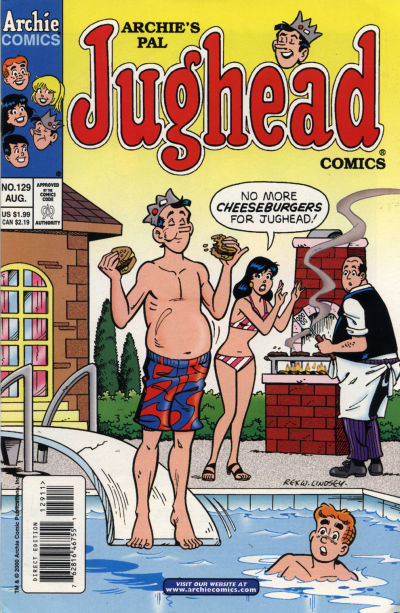 Cover for Archie's Pal Jughead Comics (Archie, 1993 series) #129