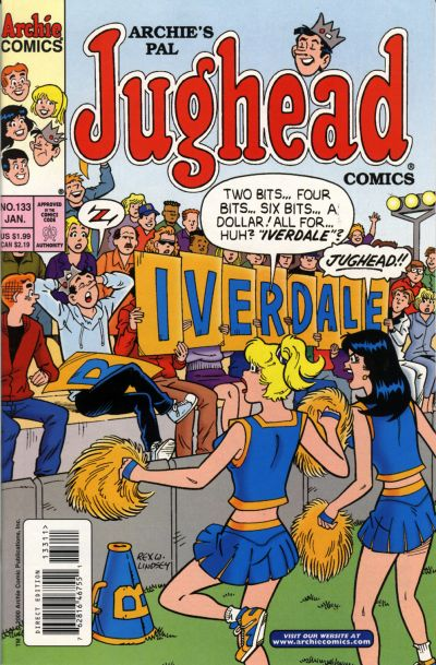 Cover for Archie's Pal Jughead Comics (Archie, 1993 series) #133