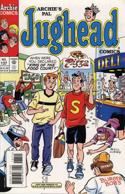 Cover for Archie's Pal Jughead Comics (Archie, 1993 series) #137