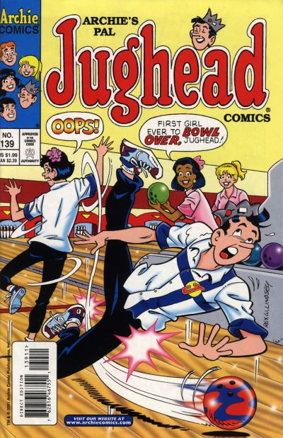 Cover for Archie's Pal Jughead Comics (Archie, 1993 series) #139