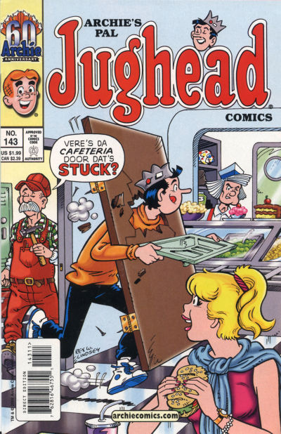 Cover for Archie's Pal Jughead Comics (Archie, 1993 series) #143
