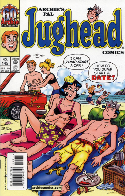 Cover for Archie's Pal Jughead Comics (Archie, 1993 series) #145