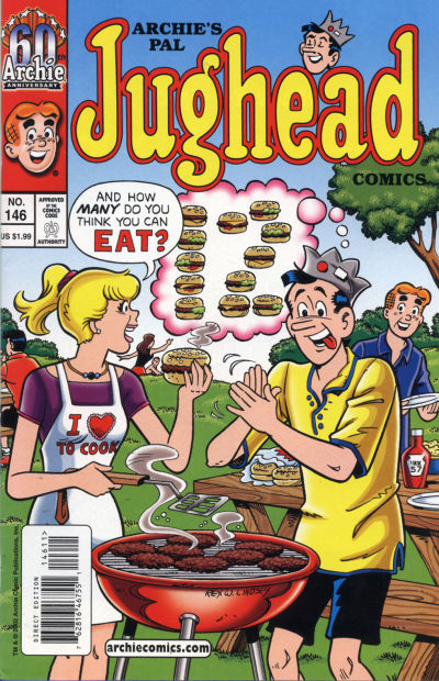 Cover for Archie's Pal Jughead Comics (Archie, 1993 series) #146
