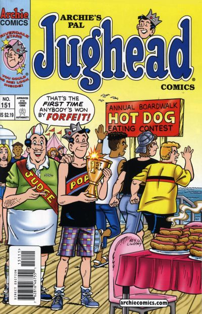 Cover for Archie's Pal Jughead Comics (Archie, 1993 series) #151