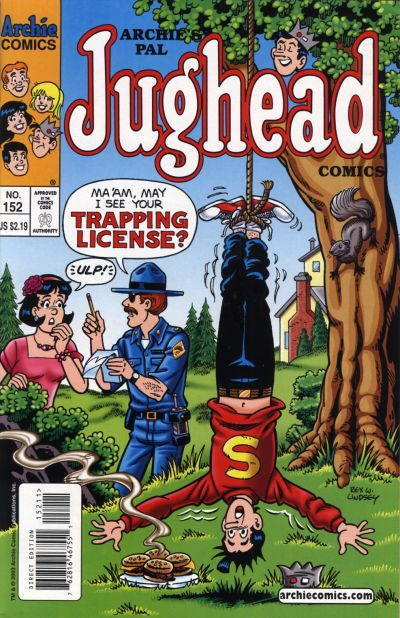 Cover for Archie's Pal Jughead Comics (Archie, 1993 series) #152