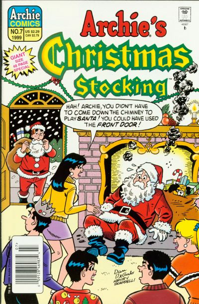 Cover for Archie's Christmas Stocking (Archie, 1993 series) #7