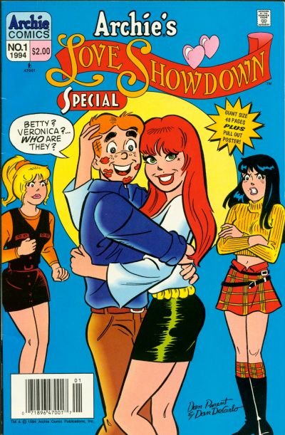 Cover for Archie's Love Showdown Special (Archie, 1994 series) #1