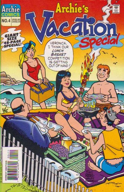 Cover for Archie's Vacation Special (Archie, 1994 series) #4