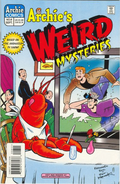 Cover for Archie's Weird Mysteries (Archie, 2000 series) #8