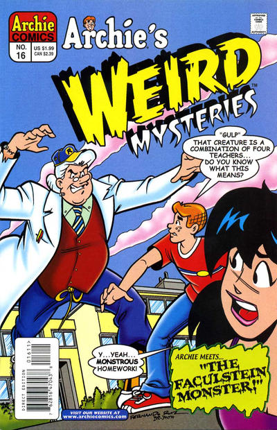 Cover for Archie's Weird Mysteries (Archie, 2000 series) #16