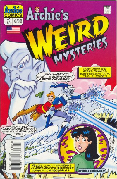 Cover for Archie's Weird Mysteries (Archie, 2000 series) #18