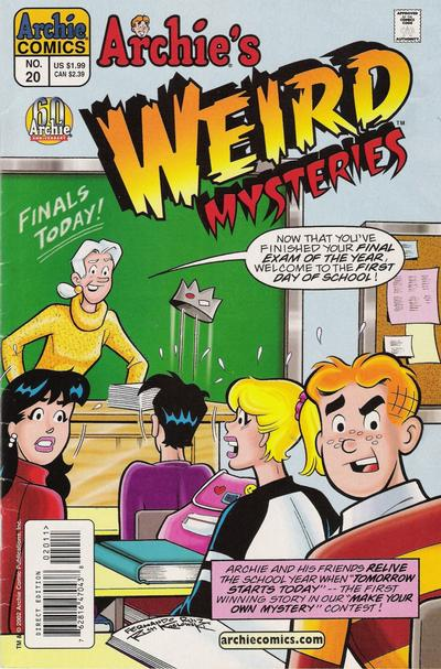 Cover for Archie's Weird Mysteries (Archie, 2000 series) #20