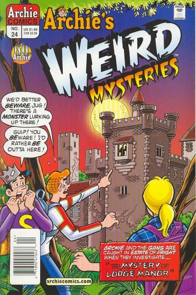 Cover for Archie's Weird Mysteries (Archie, 2000 series) #24 [Direct Edition]