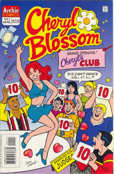 Cover for Cheryl Blossom (Archie, 1997 series) #1 [Direct Edition]