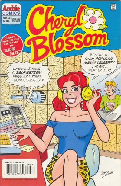 Cover for Cheryl Blossom (Archie, 1997 series) #4