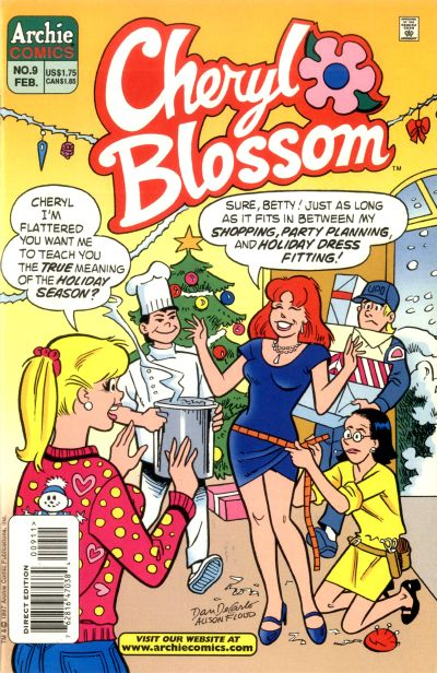 Cover for Cheryl Blossom (Archie, 1997 series) #9