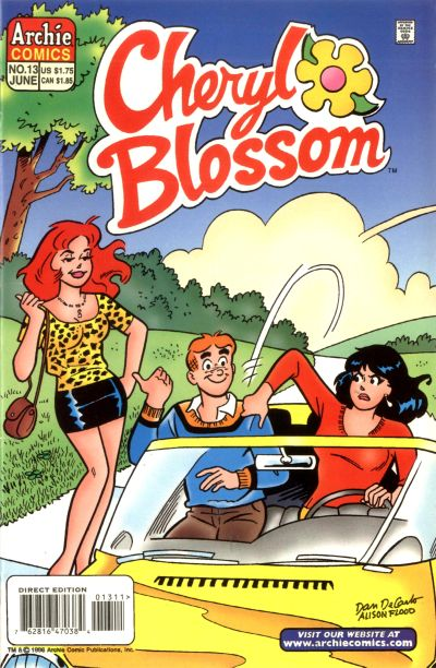 Cover for Cheryl Blossom (Archie, 1997 series) #13