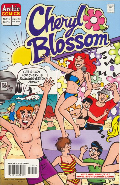 Cover for Cheryl Blossom (Archie, 1997 series) #15