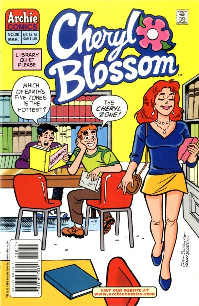 Cover for Cheryl Blossom (Archie, 1997 series) #20