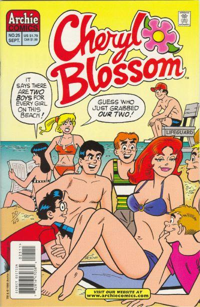Cover for Cheryl Blossom (Archie, 1997 series) #25