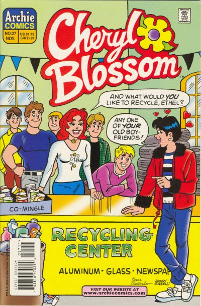 Cover for Cheryl Blossom (Archie, 1997 series) #27