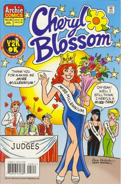 Cover for Cheryl Blossom (Archie, 1997 series) #28