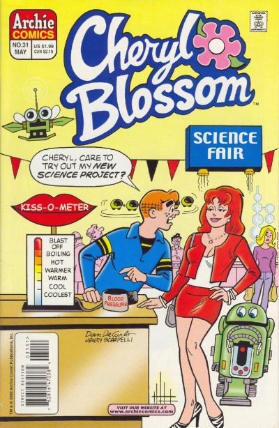 Cover for Cheryl Blossom (Archie, 1997 series) #31
