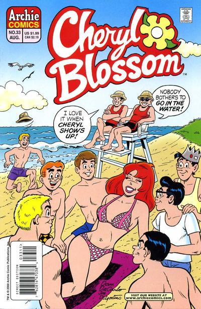 Cover for Cheryl Blossom (Archie, 1997 series) #33