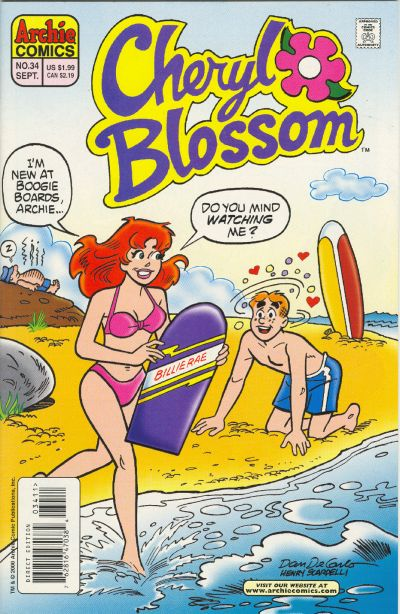 Cover for Cheryl Blossom (Archie, 1997 series) #34