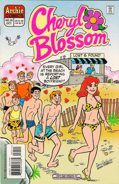 Cover for Cheryl Blossom (Archie, 1997 series) #35
