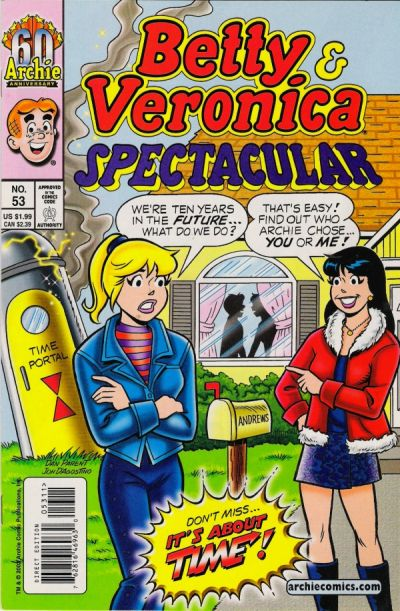 Cover for Betty and Veronica Spectacular (Archie, 1992 series) #53