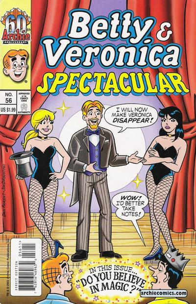 Cover for Betty and Veronica Spectacular (Archie, 1992 series) #56