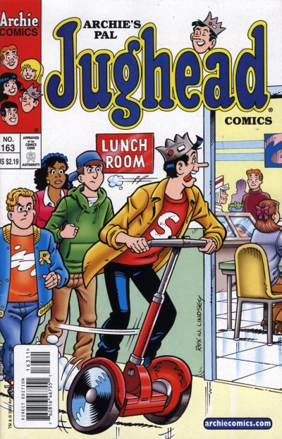 Cover for Archie's Pal Jughead Comics (Archie, 1993 series) #163