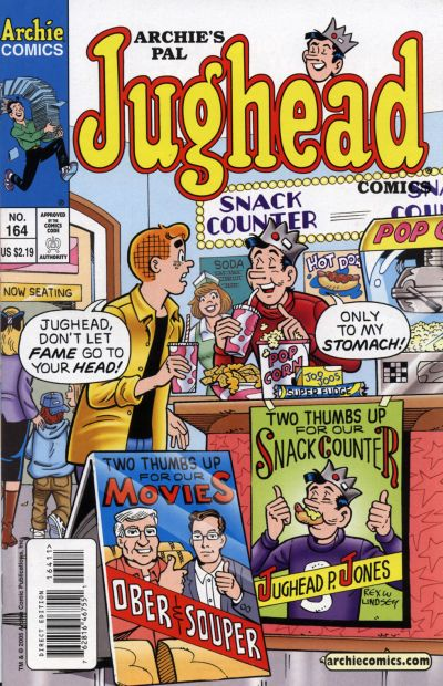 Cover for Archie's Pal Jughead Comics (Archie, 1993 series) #164