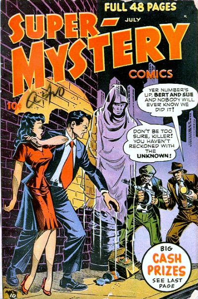 Cover for Super-Mystery Comics (Ace Magazines, 1940 series) #v7#6