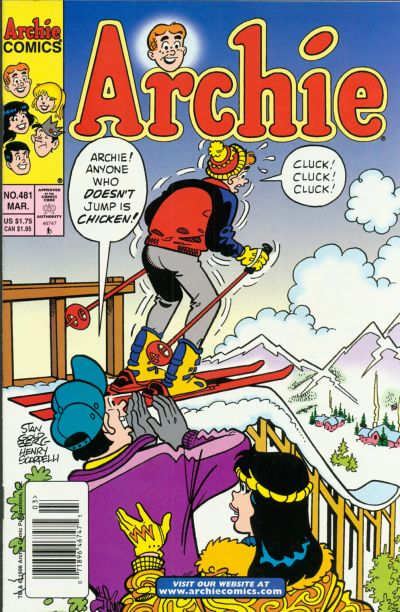 Cover for Archie (Archie, 1959 series) #481 [Newsstand]