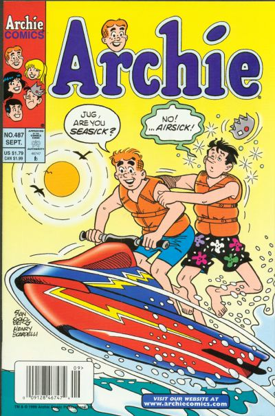 Cover for Archie (Archie, 1959 series) #487