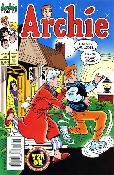 Cover for Archie (Archie, 1959 series) #491