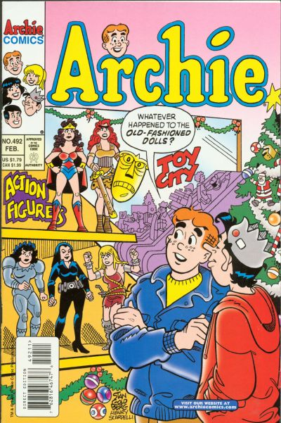 Cover for Archie (Archie, 1959 series) #492