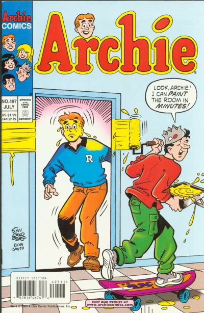Cover for Archie (Archie, 1959 series) #497